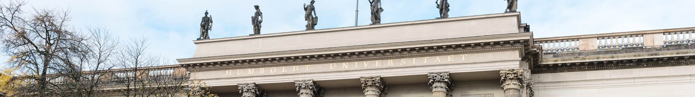 Header image: facade of Humboldt-Universität zu Berlin